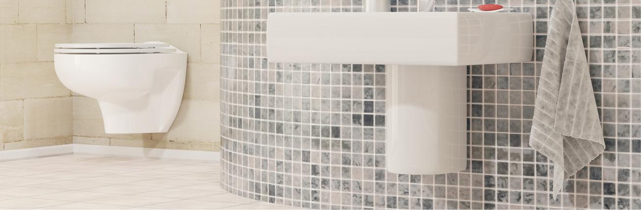 Uszkodzenia na ceramice sanitarnej albo pytkach. Nie ma potrzeby wzywać fachowców.