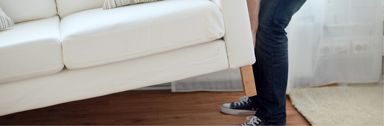 Rysy i przetarcia na podłogach?