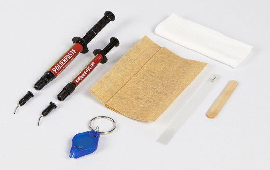 Zestaw naprawczy do ceramiki sanitarnej idealny do naprawy drobnych uszkodzeń na umywalkach, wannach, brodzikach i sanitariatach