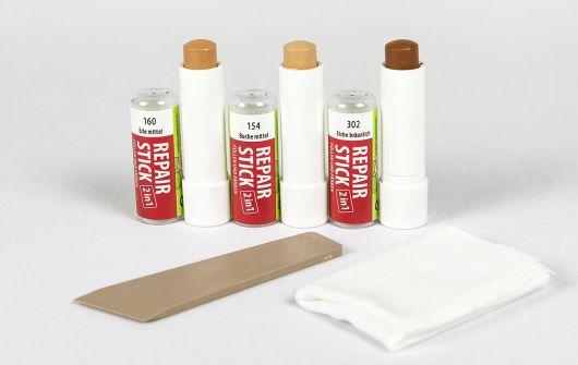 Zestaw naprawczy QUICKFIX 2w1 do szybkiego wypełniania i barwienia drobnych rys